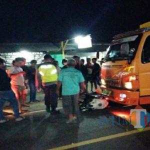 Tengah Malam, 3 Kendaraan Terlibat Tabrakan di Tulungagung, Dua Luka