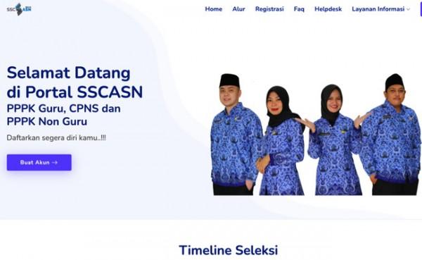 PPPK dan CPNS 2021 (Foto: sscndata.bkn.go.id)