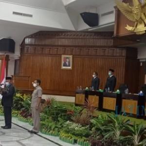 Pergantian Antar Waktu, Anak Ketua Dewan Asep Nur Hidayatulloh Dilantik Jadi Anggota Legislatif
