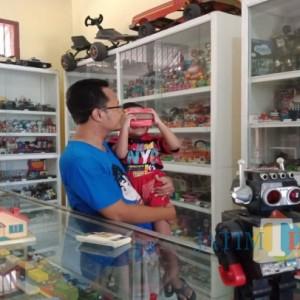 Serasa Terhipnotis, Museum Mainan Jadul di Jombang Ini Bikin Kita Kembali ke Masa Kecil