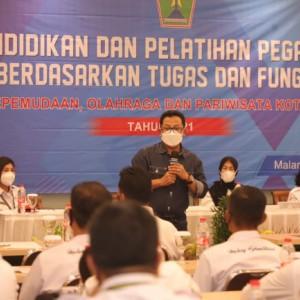 Wali Kota Sutiaji Ingatkan ASN Jaga Komitmen Wujudkan Kota Malang Bermartabat