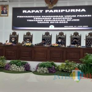 Capaian Indikator Perubahan RPJMD Kota Malang 2018-2023 Disoroti Dewan