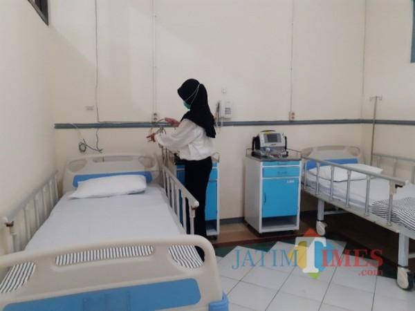 Ruang IGD di RS Lapangan Idjen Boulevard Kota Malang. (Arifina Cahyanti Firdausi/MalangTIMES).