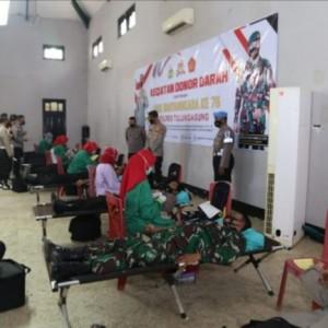 Peringati Hari Bhayangkara, Polres Tulungagung Gelar Donor Darah