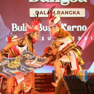 Dalam Rangka Bulan Bung Karno Pemkab Kediri Gelar Seni Budaya