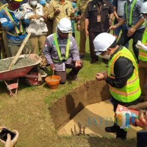 2 Sekolah Baru Resmi Dibangun, Wali Kota Malang Sutiaji Lakukan Peletakan Batu Pertama