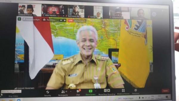 Gubernur Jawa Tengah, Ganjar Pranowo.(Foto : Sukarno Festival for BlitarTIMES)
