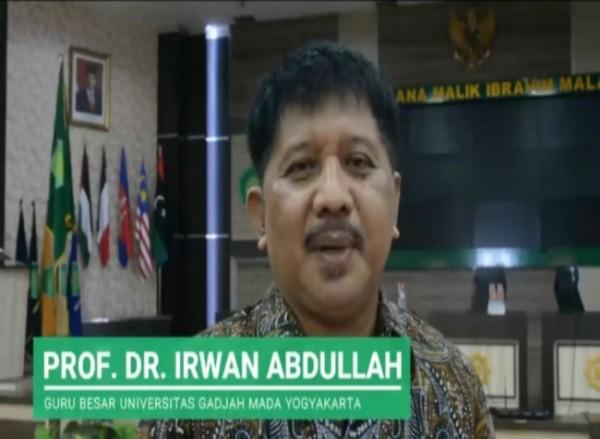 Guru Besar Universitas Gadjah Mada (UGM) Prof Irwan Abdullah (Ist)