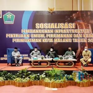 Penanganan Jalan hingga Drainase, DPUPRPKP Kota Malang Genjot 244 Infrastruktur Sepanjang 2021