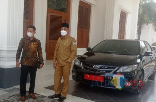Wabup Tuban Riyadi saat ditemui di Perumahan Dinas Wakil Bupati Kabupaten Tuban (Foto Ahmad Istihar/Jatim TIMES)