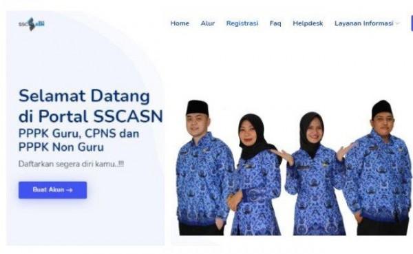 CPNS 2021 dan PPPK (Foto: sscasn.bkn.go.id)