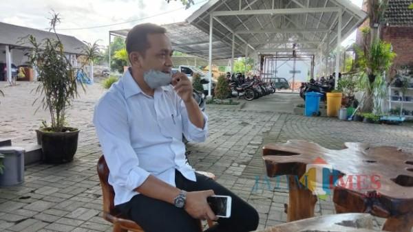Cahyanto, Pelaksana tugas Kepala BPKAD Banyuwangi (Foto: Nurhadi Joyo/JatimTIMES).
