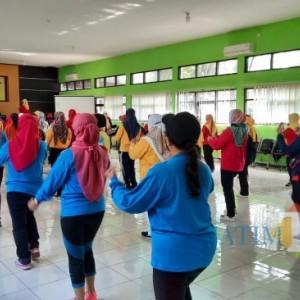 Gelar Pelatihan Instruktur Senam Lansia, Dinsos-P3AP2KB Kota Malang: Peserta Konsisten