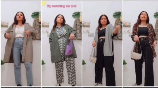 Item fashion outer untuk pemilik pinggul besar. (Foto: Instagram @steffisanta).