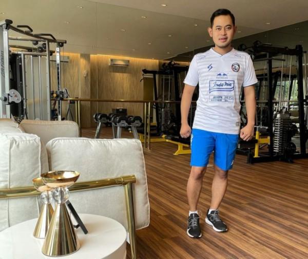 Presiden Arema FC, Gilang Widya Pramana (foto: Instagram @juragan_99)