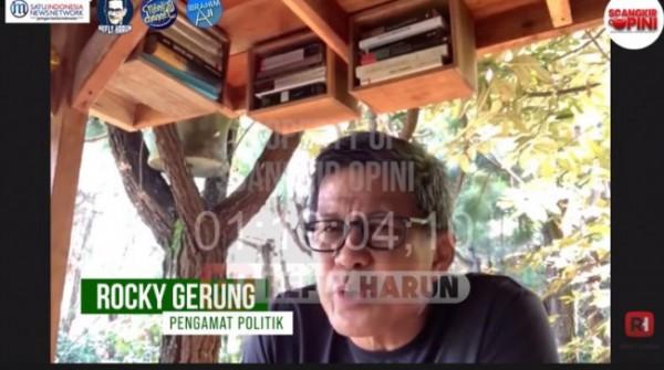 Rocky Gerung (Foto: YouTube Refly Harun)