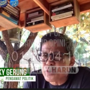 Rocky Gerung: Jika Habib Rizieq Dihukum Tandanya Bangsa ini Ingin Konfrontasi Terus!