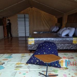 Dilengkapi Tenda Sewewah Hotel, Buper Glagah Arum Bisa Untuk Acara Pernikahan