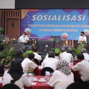 Beber Standarisasi Rehabilitasi Rumah Rawan Bencana, DPUPRPKP Kota Malang Gelar Sosialisasi