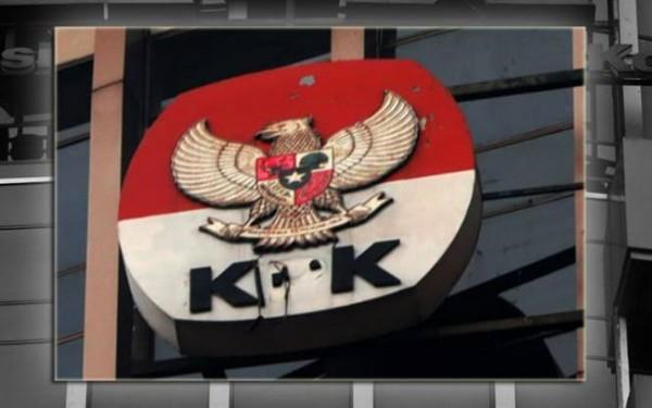Huruf P di logo KPK hilang (Foto: Twitter)