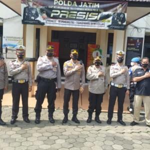 Tingkatkan Penanganan Covid-19, Polresta Malang Kota Gencarkan Vaksinasi di Lingkup Polsek