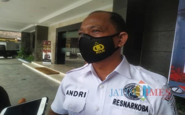 Kasat Reskoba Polres Tulungagung AKP Andri Setya Putra (Foto: Anang Basso/Tulungagung TIMES)