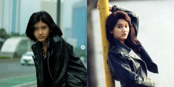 Mela Milia (kiri) dan Nike Ardila (kanan), Foto: instagram @melamilia