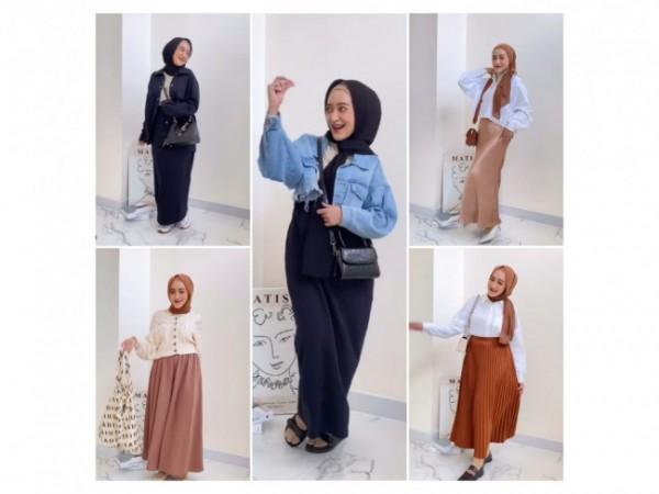 Simple outfit untuk segala aktivitas. (Foto: Instagram @seviqfebinita).