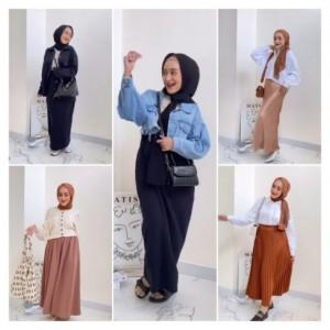 Inspirasi Padu Padan Rok dan Skirt, Cocok Untuk Hangout Hingga Kondangan