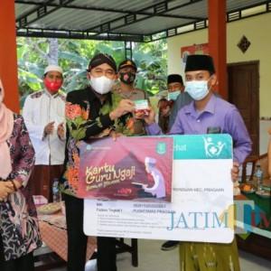 Wujud Sumenep Melayani, Pemkab Launching Kartu Guru Ngaji