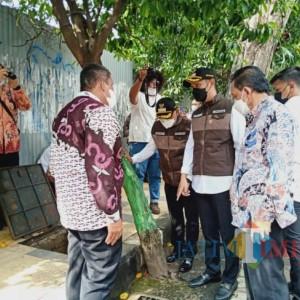 Kompak, Bupati dan Wabup Tuban Sidak Gorong-gorong di Kawasan Perkotaan