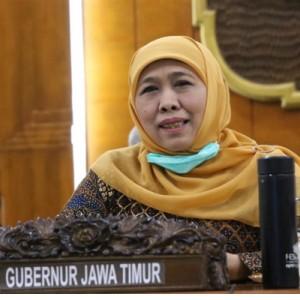 Gubernur Jatim Khofifah Kembali Positif Covid-19