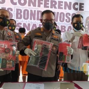 Polres Bondowoso Ungkap 8 Kasus Narkotika, Amankan 8 Tersangka