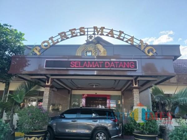 Mapolres Malang (foto: Hendra Saputra/MalangTIMES)