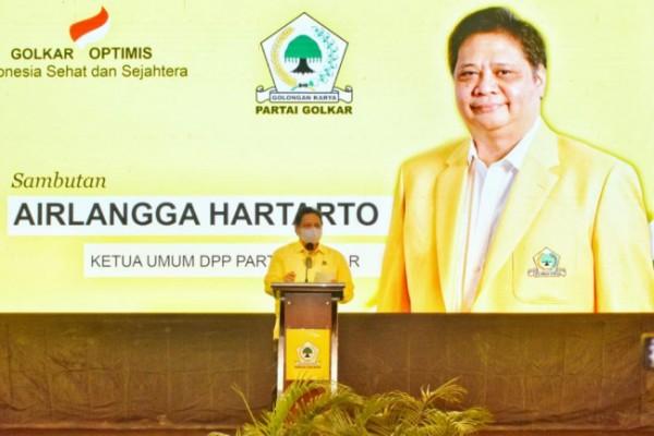 Ketua Umum DPP Partai Golkar, Airlangga Hartanto (foto: istimewa)