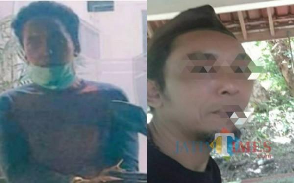 AS, pelaku tipu gelap yang diamankan di Mapolres Tulungagung. (Foto:  Istimewa/TulungagungTIMES)