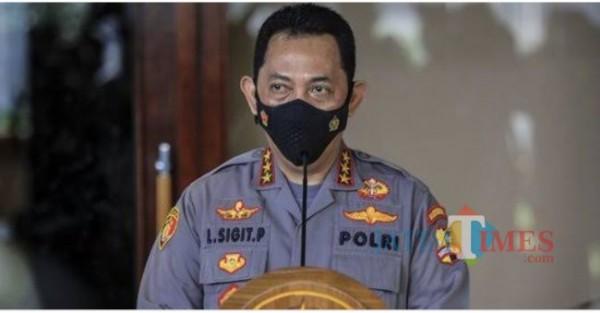 Kapolri Jenderal Listyo Sigit Prabowo (Foto Mereka. com/Jatim TIMES)