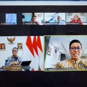 Gencarkan Implementasi Inpres 2/2021, BPJS Ketenagakerjaan Audiensi Virtual dengan Kemenhub