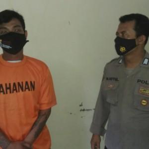 Simpan Obat Terlarang, Pemuda 28 Tahun Ngandang di Polsek Ngadiluwih