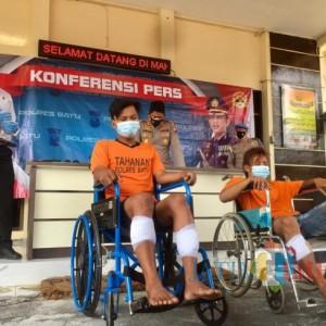 Pesta Narkoba sebelum Curi Motor, Dua Kaki Pelaku Ditembak Polisi