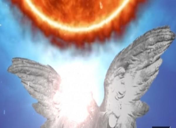 Ilustrasi menahan matahari (Ist)