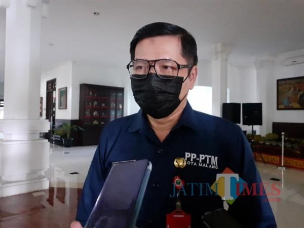 Kepala Dinas Kesehatan (Dinkes) Kota Malang dr Husnul Muarif. (Arifina Cahyanti Firdausi/MalangTIMES).