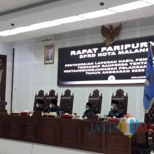 DPRD Beber Sederet Rekomendasi Terkait Pertanggungjawaban APBD Tahun 2020
