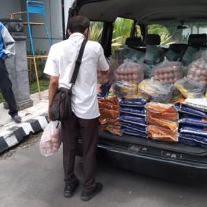 Lagi, Dinsos Kota Kediri Kirim Bantuan Sembako Plus untuk Warga Isolasi Mandiri