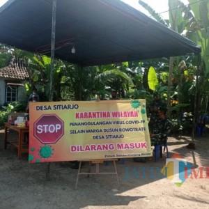 Kabar Baru Dusun Rowotrate, 13 Orang Meninggal Dunia Setelah Wilayah Diisolasi