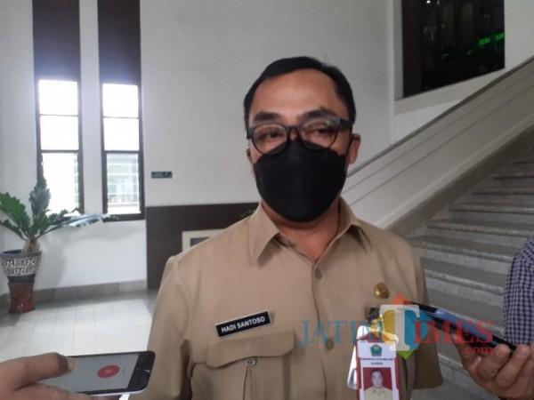 Kepala Dinas Pekerjaan Umum, Penataan Ruang, Perumahan dan Kawasan Permukiman (DPUPRPKP) Kota Malang, Hadi Santoso. (Arifina Cahyanti Firdausi/MalangTIMES).