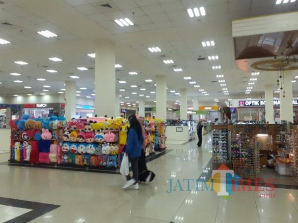 Salah satu pusat perbelanjaan di Kota Malang. (Arifina Cahyanti Firdausi/MalangTIMES).