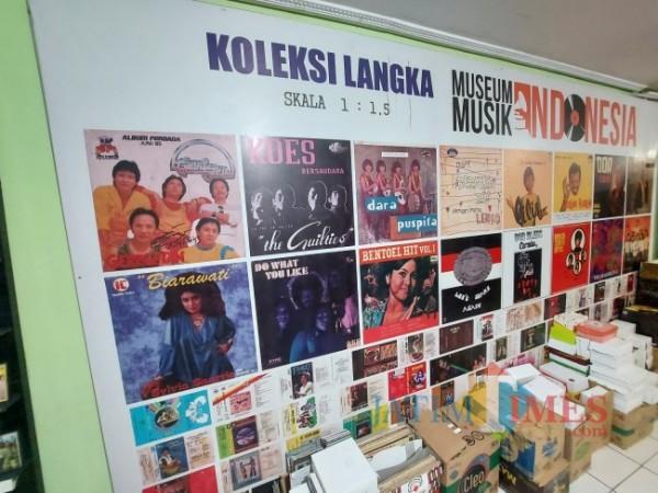 Ilustrasi beberapa koleksi langka dari Museum Musik Indonesia. (Foto: Tubagus Achmad/MalangTIMES)