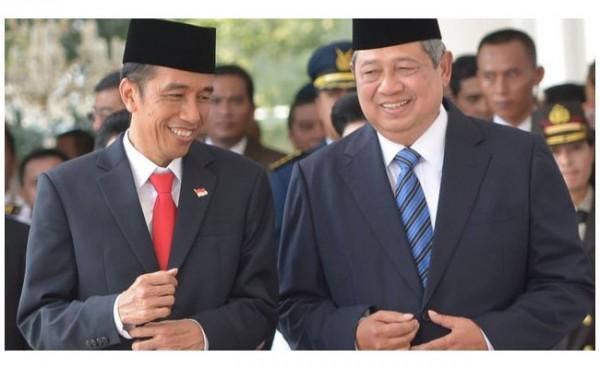 Jokowi dan SBY (Foto: BBC)