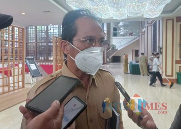 Kadinkes Kabupaten Malang drg Arbani Mukti Wibowo. (Foto: Hendra Saputra/MalangTIMES)